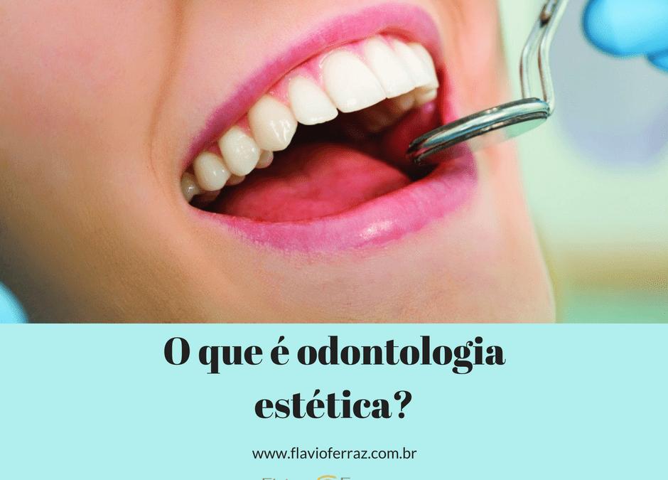 O que é odontologia estética_Flavio Ferraz